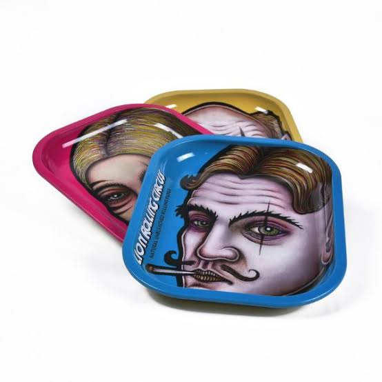 Lion Rolling Circus Trays