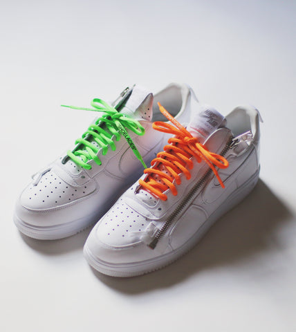 oval off white shoe laces