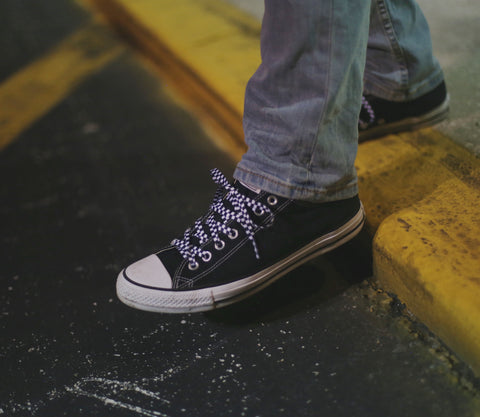 Converse Checkered shoe laces
