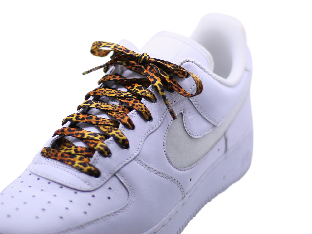 cheetah shoe laces