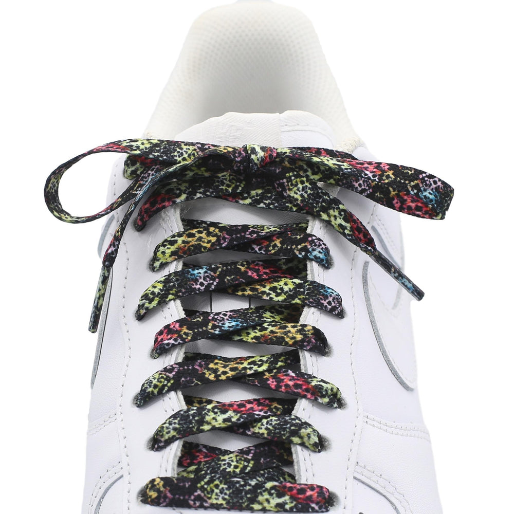 Flat Printed Shoe Laces - Animal