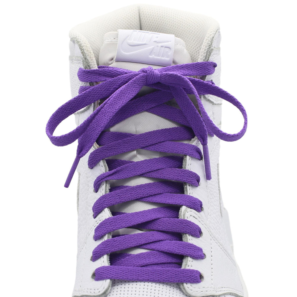 court purple jordan 1 shoe laces