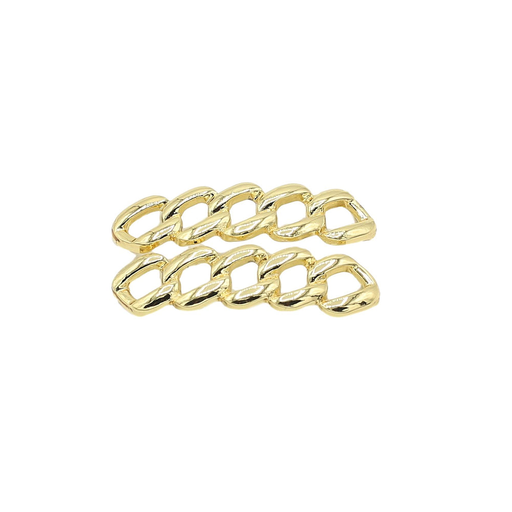 Cuban Link Lace Lock Charms