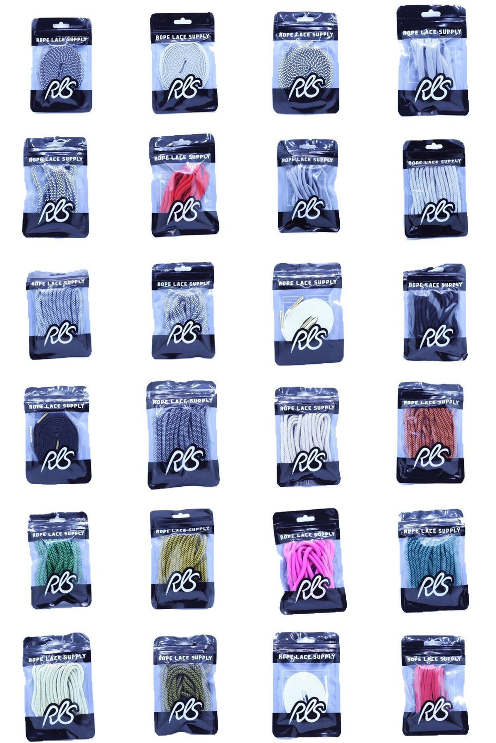 Flat Ultra Boost Shoe Laces (Standard Colors)