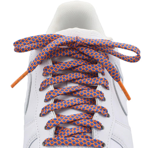 Flat Standard Shoe Laces - Multicolor - Colored Tips