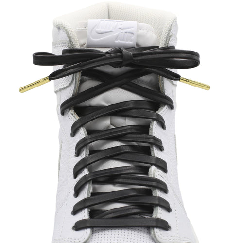 Flat Premium Leather Shoe Laces
