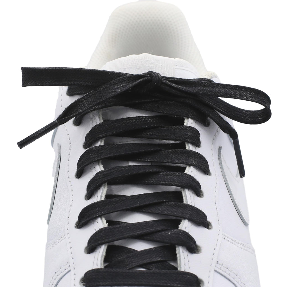 Flat Waxed Cotton Shoe Laces