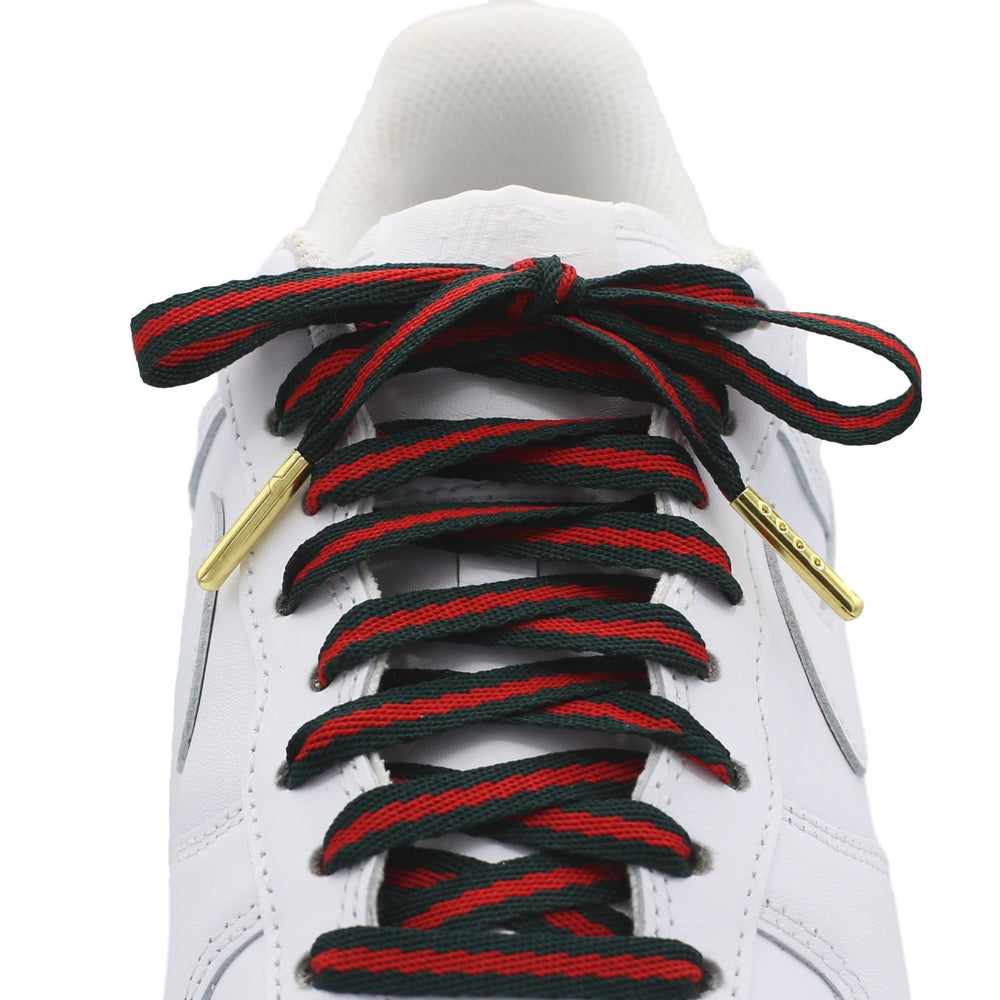 Flat Gucci Style Shoe Laces
