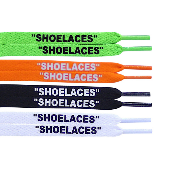 Off white replacement shoe laces all