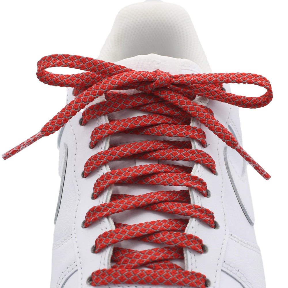 FLAT REFLECTIVE SHOE LACES AWESOME REPLACEMENT 3M LACES BUY 2 GET 1 FREE