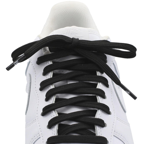 flat black replacement shoe laces