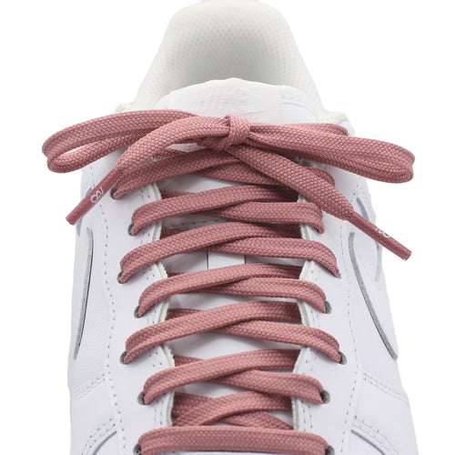 flat blush shoe laces