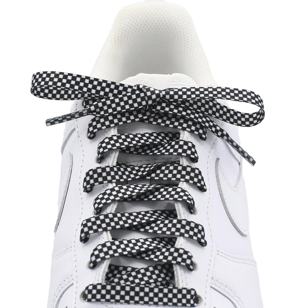 Flat Printed Shoe Laces - Finish line
