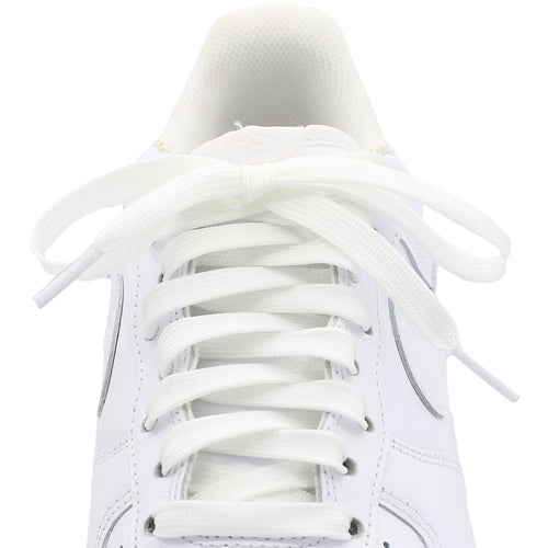 Flat glow in the dark shoe laces