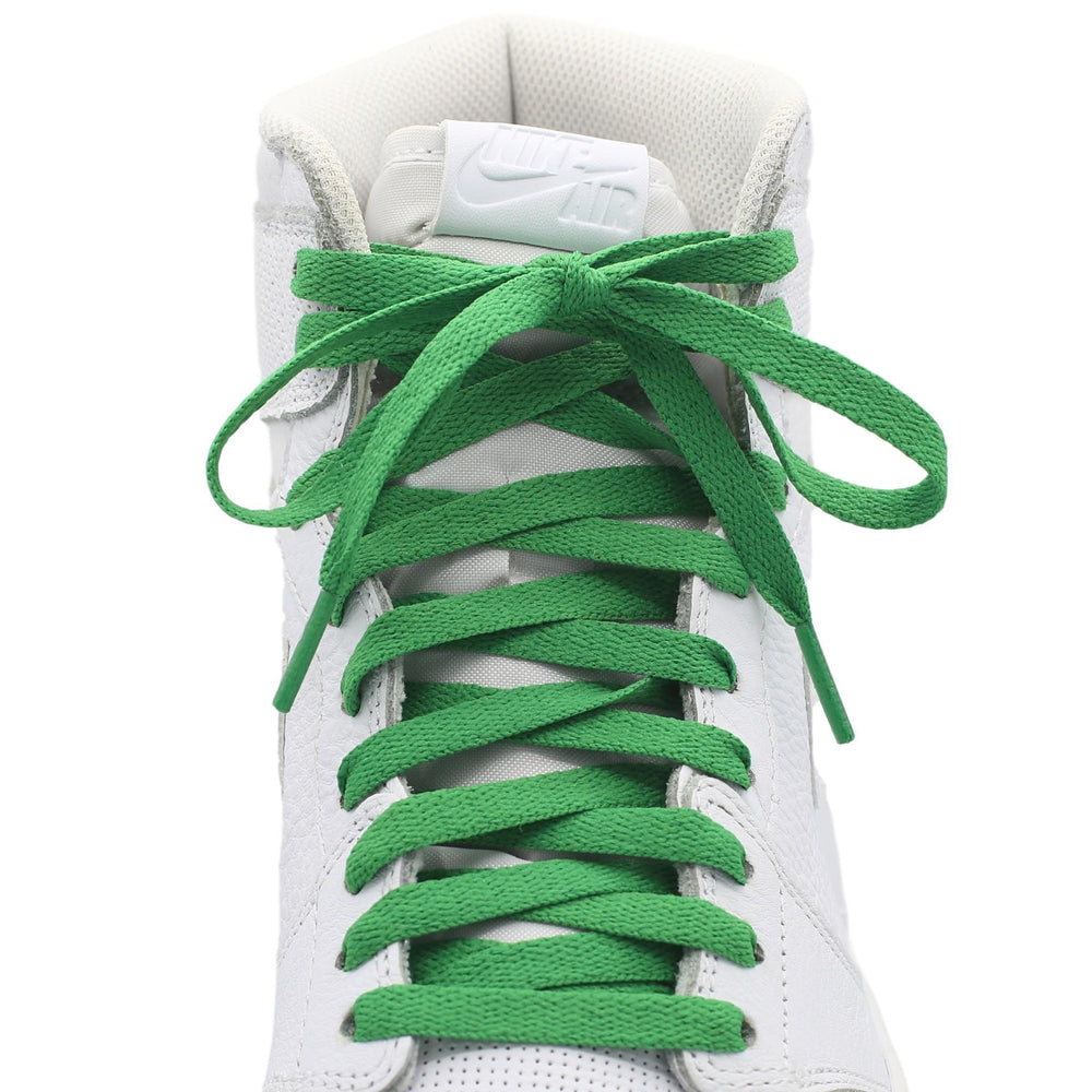 green jordan 1 replacement shoe laces