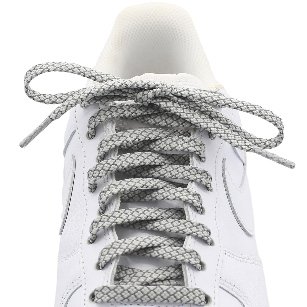 Flat Standard Shoe Laces - Reflective