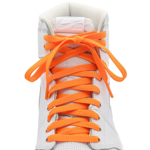 orange jordan 1 shoe laces
