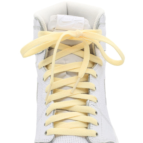 vintage cream jordan 1 shoe laces