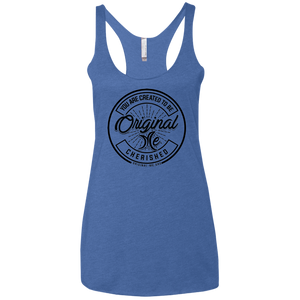 #3 (black) - Cherished - NL6733 Next Level Ladies' Triblend Racerback Tank