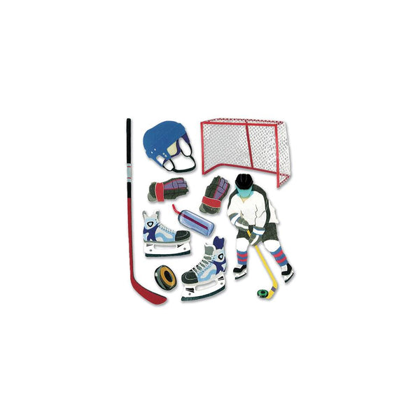 Jolee's Boutique Dimensional Stickers, Hockey