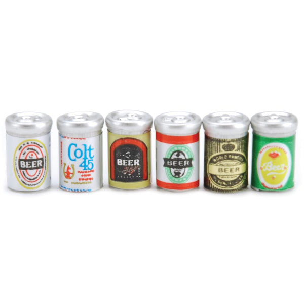 Darice, Timeless Minis, Assorted Beer Cans 6/Pkg