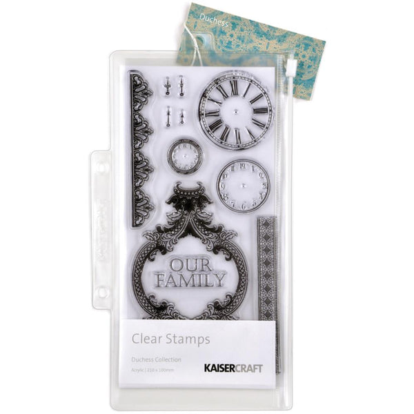 "Kaisercraft, Duchess Clear Stamps 8.25""X4"" - Scrapbooking Fairies"