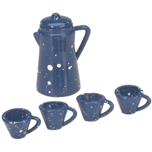 Darice, Timeless Minis, Coffee Pot Set W/Cups