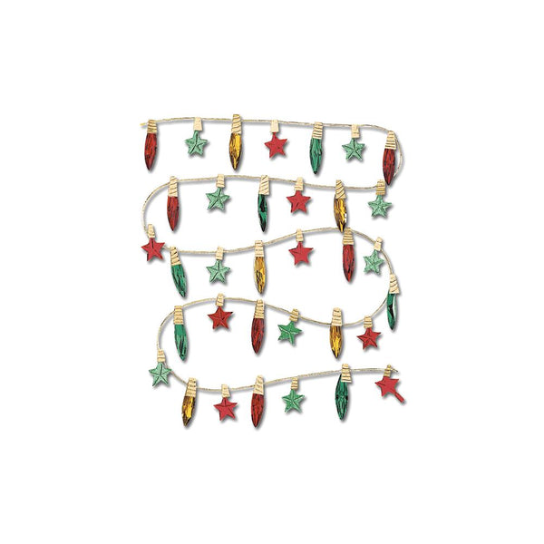 Jolee's Boutique Dimensional Stickers, Christmas Lights