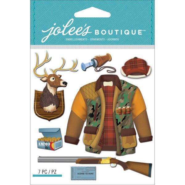 Jolee's Boutique Dimensional Stickers, Hunting