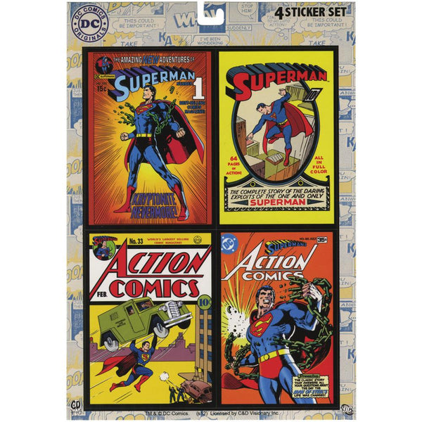 DC Comics Originals, Mini Sticker Set, Superman