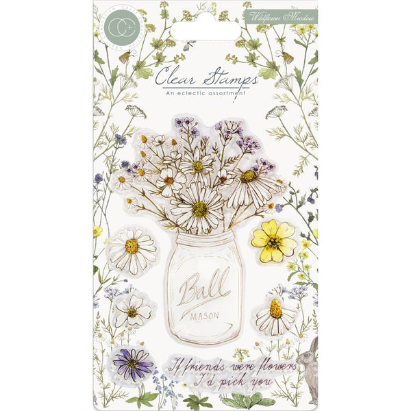 Craft Consortium A5 Clear Stamps, Wildflower Meadow, Fresh Cut