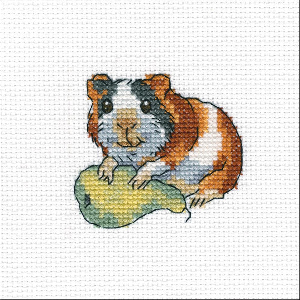 "RTO Counted Cross Stitch Kit 4""X4"", Rodent Bonn (14 Counts)"