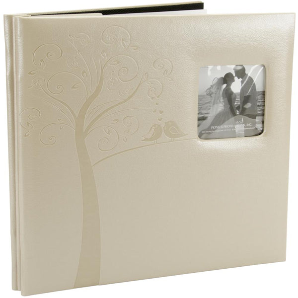 "Pioneer Embossed Wedding Post Bound Album 12""X12"", Tree"