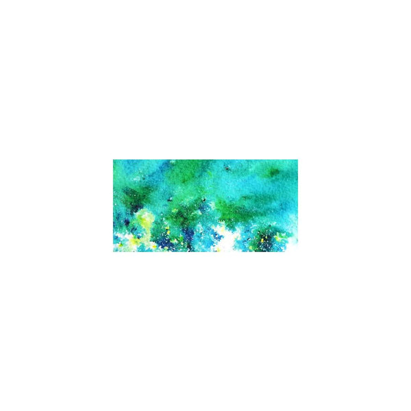ColourCraft, Brusho Crystal Colour 15g, Sea Green - Scrapbooking Fairies