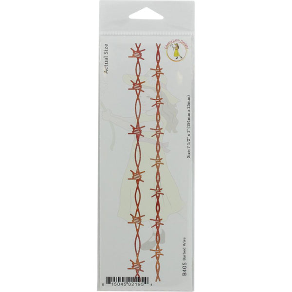 "Cheery Lynn Designs Die, Barbed Wire, 7.5""X1"" - Scrapbooking Fairies"