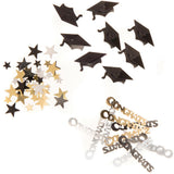 Darice Confetti 24g, Graduation Mix - Scrapbooking Fairies