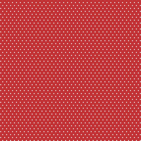 "Core'dinations Core Basics Patterned Cardstock 12""X12"", Red Small Dot"