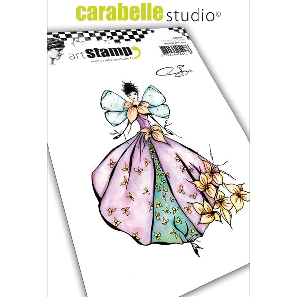 Carabelle Studio, Cling Stamp A6 By Soizic, Natural Fairy