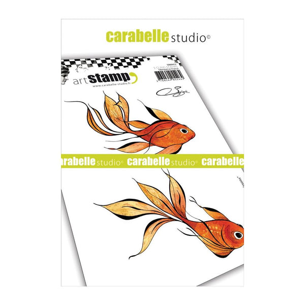 Carabelle Studio, Cling Stamp A6 By Soizic, Fishes
