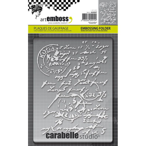 Carabelle Studio, Courrier, Embossing Folder