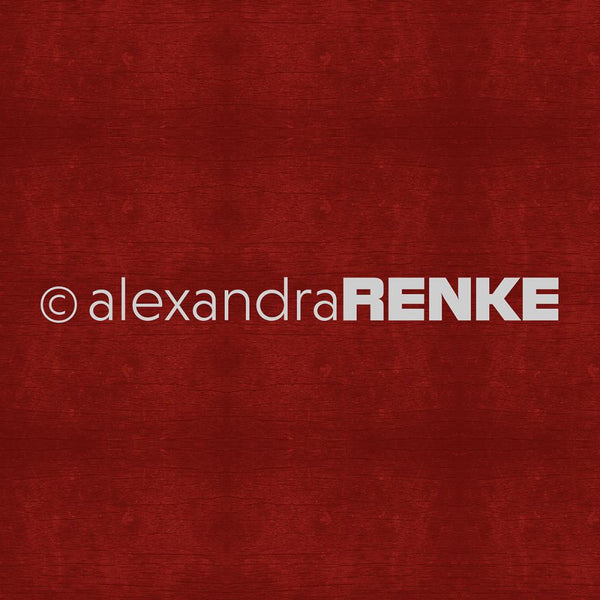 "Alexandra Renke Mimi's Basic Design Paper 12""X12"", Dark Red"