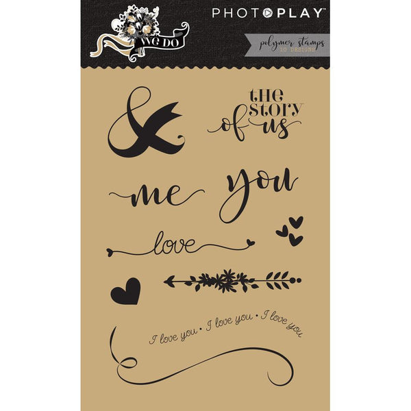 Photo Play, We Do, Polymer Stamps, Elements