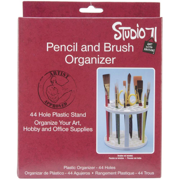 "Studio 71, Pencil and Brush Organizer, 5.75""X5.125"""