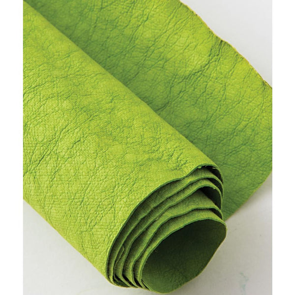 "Kraft-Tex Kraft Paper Fabric 18.5""X28.5"", Greenery"