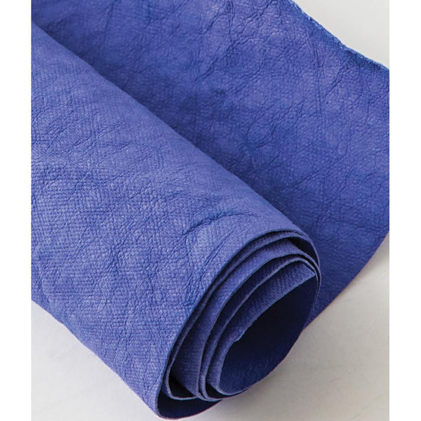 "Kraft-Tex Kraft Paper Fabric 18.5""X28.5"", Blue Iris"