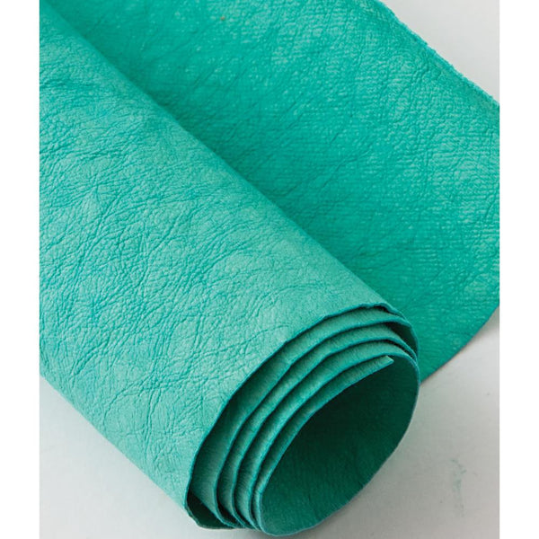 "Kraft-Tex Kraft Paper Fabric 18.5""X28.5"", Blue Turquoise"
