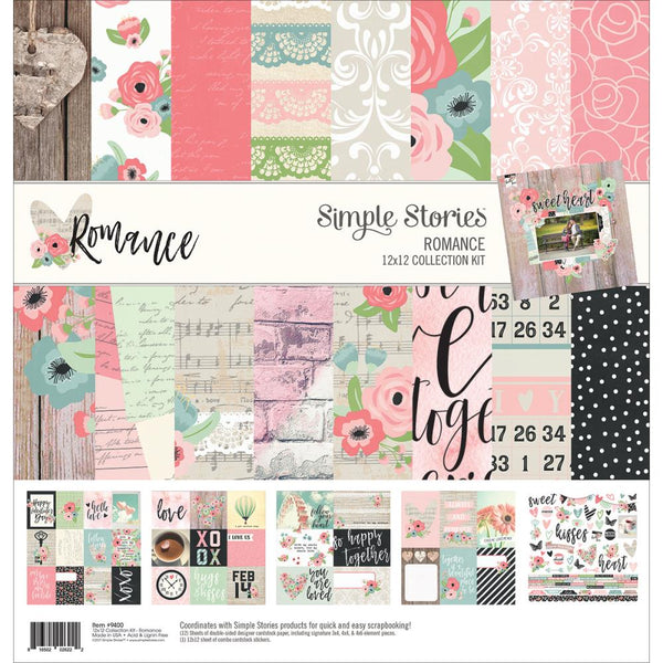 "Simple Stories Collection Kit 12""X12"", Romance"