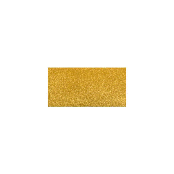 "Gloss Glitter Paper 12""X12"", Bright Gold - Scrapbooking Fairies"