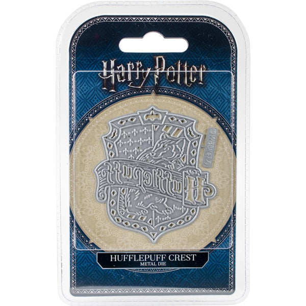 Harry Potter Hufflepuff Crest, Thinlits Die - Scrapbooking Fairies