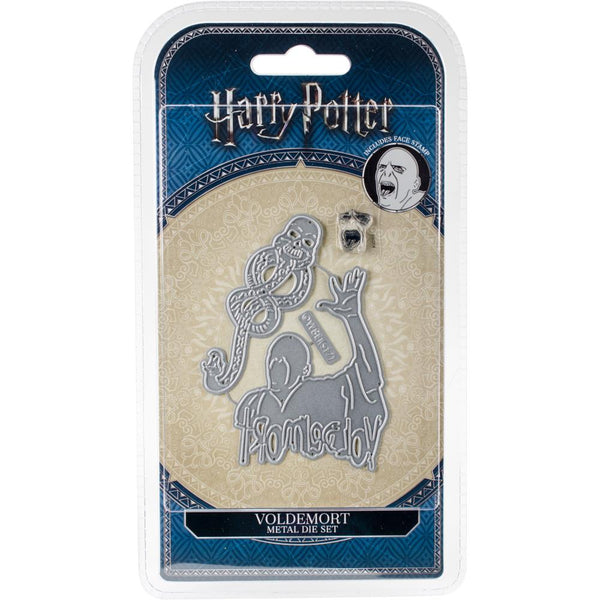 Harry Potter Die And Face Stamp Set, Voldemort - Scrapbooking Fairies